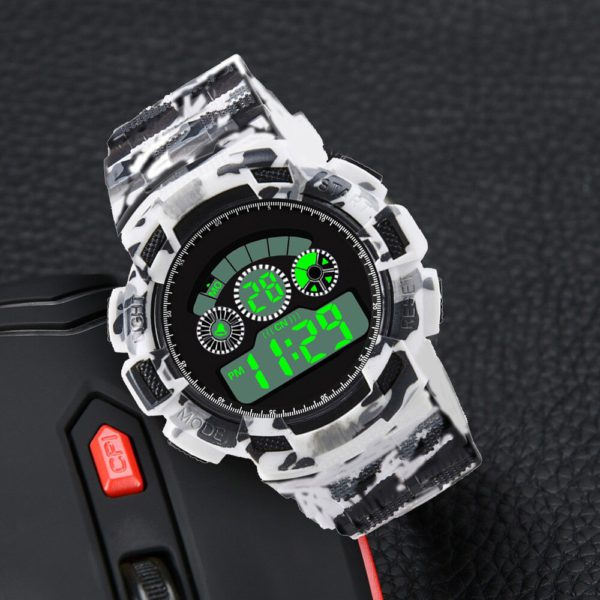 HONHX Top Luxury Sports Watch Men Analog Digital Military Silicone Army Sport LED Waterproof Wrist Watches Clock Relogio #Zer