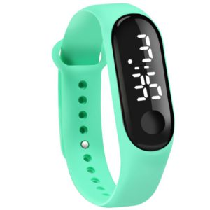 Digital Touch Screen LED Display Silicone Strap Men Women Couple Wristwatch Electronic Bracelet Watches Kids Sport Fitness Clock