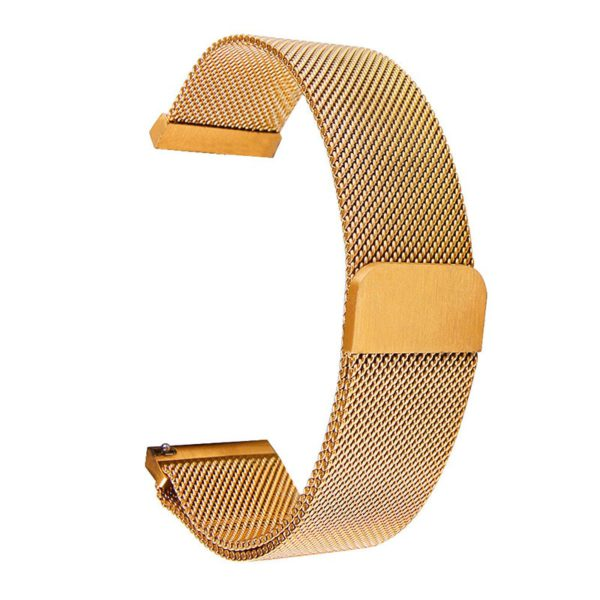 Universal Milanese Magnetic Metal strap 20mm 22mm For Samsung Galaxy Watch 42mm 46mm For Samsung Gear S2 S3 watchband 14-24mm