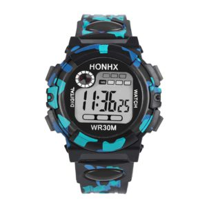 #5001Kids Child Boy Girl Multifunction Waterproof Sports Electronic Watch Watches reloj kids New Arrival Freeshipping Hot Sale