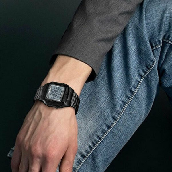 Business Men Watches Waterproof Sport Watch Stainless Steel Digital Wristwatches Clock Relogio Masculino Montre Homme